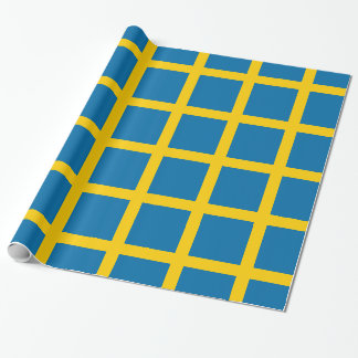 Sveriges Flagga - flagga av sverigen - Presentpapper