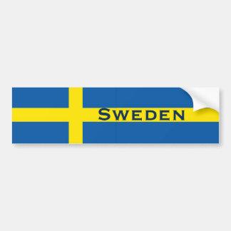 Sverigesvenskflagga Bildekaler
