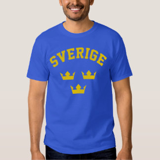 sverigetrekr t-shirts