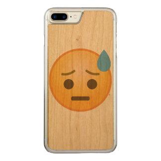 Svettas Emoji Carved iPhone 7 Plus Skal