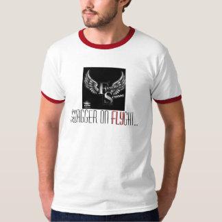 Swagg på den FLYght utslagsplatsen Tee Shirts