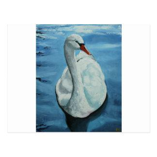 Swan#1 Vykort