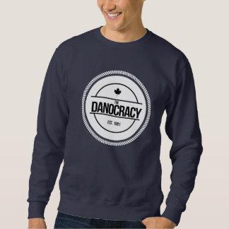 Sweatshirts för Pullover för TheDanocracy Lång Ärmad Tröja