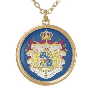 Sweden Ladies Necklace  Sveriges damer halsband