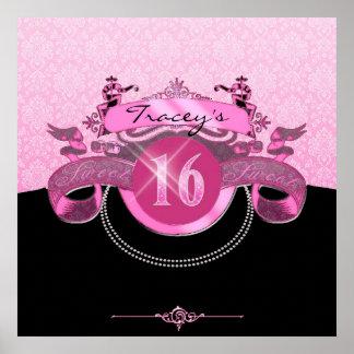 Sweet sixteenrosadamast poster