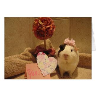 Sweeties valentin OBS kort