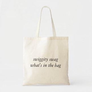 swiggty bylte vad är i hänga lös tygkasse