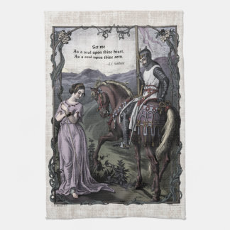"""Swinburne """"för VictorianTea för ett gammalt ordstä Kökshandduk"""