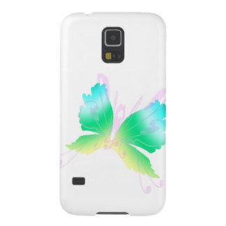 Swirly fluga III Galaxy S5 Fodral