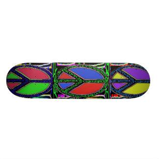 Swirly fredsteckenTrio Skateboard Decks
