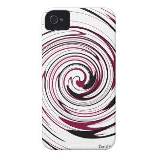 Swirly rekord Case-Mate iPhone 4 fodraler