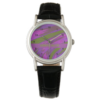 Swish för lilagröntfärg armbandsur