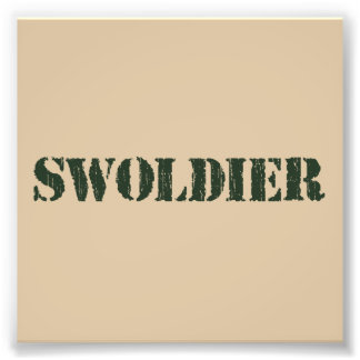 Swoldier Swole US soldat
