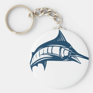 Swordfish Rund Nyckelring