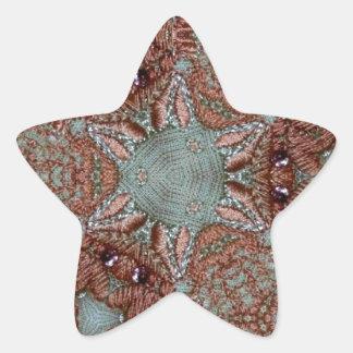 sy design stjärnformat klistermärke
