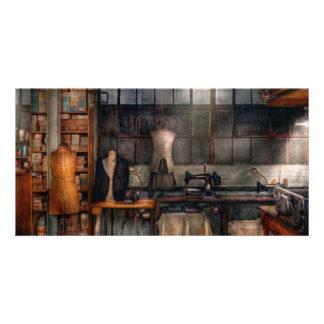 Sy - Inudstrial - kvalitets- linnen Anpassingsbara Fotokort