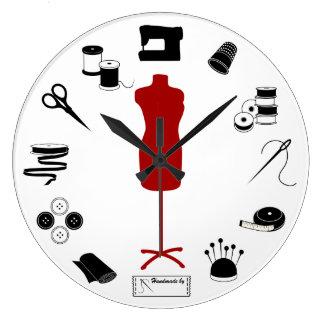 Sy rätt stor klocka