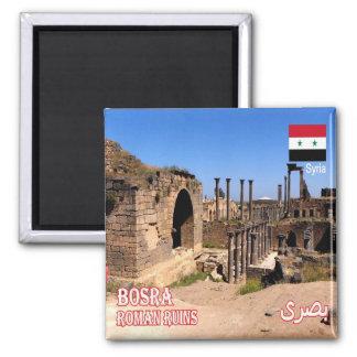 SY - Syrien - romaren fördärvar i Bosra