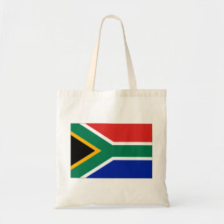 Sydafrika flagga budget tygkasse