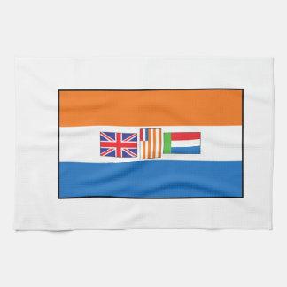 Sydafrika flagga kökshandduk