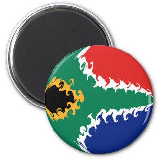 Sydafrika Gnarly flagga Kylskåps Magneter