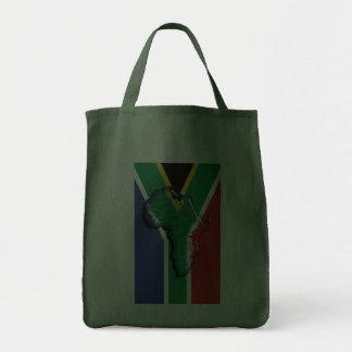 Sydafrika RSA afrikansk flagga Tygkassar