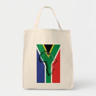 Sydafrika RSA afrikansk flagga Mat Tygkasse