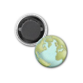 Sydd mönstermagnet för jord 3D Magnet