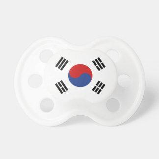 Sydkorea flagga napp