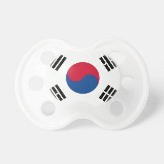 Sydkoreansk flagga napp