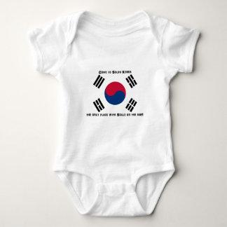 Sydkoreansk flagga tee shirts