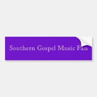 Sydlig bildekal för fläkt för gospelmusik