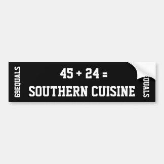 Sydlig cuisinebildekal bildekal