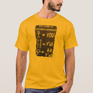 Sydlig grammatik tee shirt