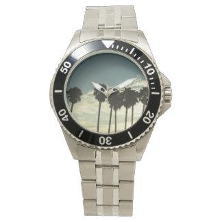 Sydlig Kalifornien palmträdklocka Armbandsur