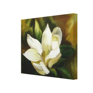 Sydlig Magnolia Canvastryck
