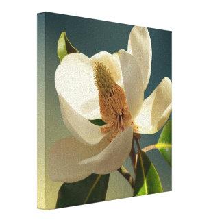 Sydlig Magnoliablomma, romantiker Canvastryck