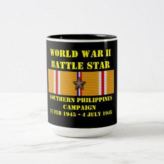 Sydlig Philippines kampanj Två-Tonad Mugg