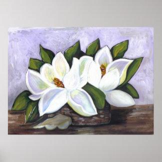 Sydliga Magnolias Poster