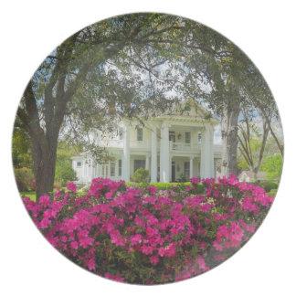 Sydligt Antebellum hem - Brookhaven, Mississippi Tallrik