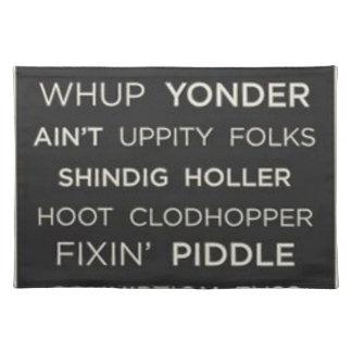 Sydligt ord bordstablett