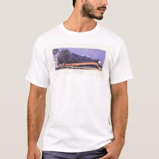 Sydligt Stillahavs- strömlinjeformat dagsljus T-shirt