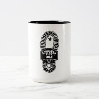Sydligt sula kaffemuggen Två-Tonad mugg
