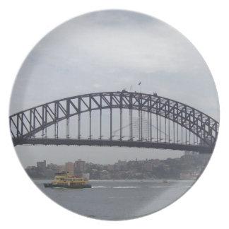 Sydney hamn tallrik