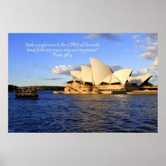 Sydney operahus, Australien Poster