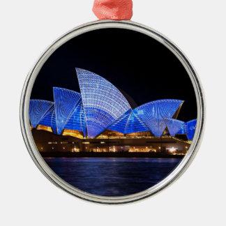 Sydney operahus julgransprydnad metall