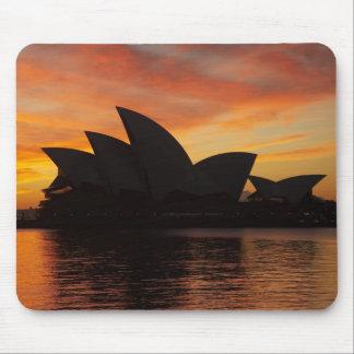 Sydney operahus på gryning, Sydney, ny söder Musmatta