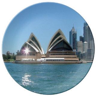 Sydney operahus porslinstallrik