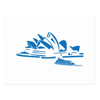 Sydney operahus vykort