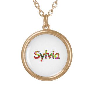Sylvias Guldpläterat Halsband
